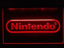 Nintendo lamp sign Game Room Bar Beer LED Neon light Man Cave