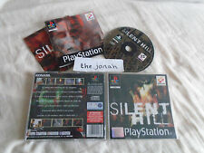 Silent Hill PS1 (COMPLETE) black label rare Sony PlayStation survival horror