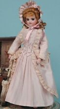 "French fashion doll 12"" doll wardrobe pattern Jacket, Skirt ,Underwear,Corset"