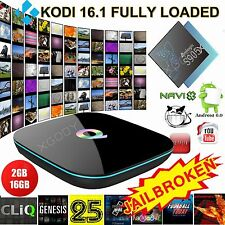 KODI XGODY Home Network Media Q BOX Quad Core 2+16G 4K Android TV BOX Bluetooth