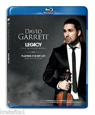 Garrett David - Legacy. Live in Baden Baden Blu-ray - POLISH RELEASE New Sealed