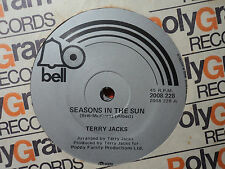 """Terry Jacks """"Seasons In The Sun"""" 1974 BELL NZ or Oz 7"""" 45rpm"""