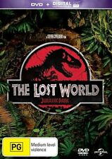 DVD + ULTRAVIOLET THE LOST WORLD   LIKE NEW CONDITION FREE FAST POSTAGE