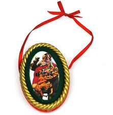 Coca-Cola USA Weihnachtsbaumschmuck Christbaumschmuck - Santa 1948 Ornament