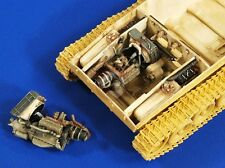 Verlinden 1/35 M24 Chaffee Tank Engine and Compartment (for Bronco) [Resin] 2728