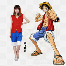 One Piece Monkey·D·Luffy Halloween Cosplay Suit Costume X001