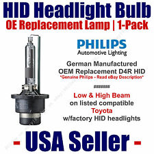 OE HID Headlight Hi/Low GENUINE German PHILIPS Fits Listed Toyota Models D4R