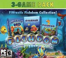 3 NEW PC Fishdom - Match 3 Hidden Object Puzzle Collection Hidden Odyssey PC NEW
