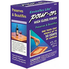 EnviroTex Lite 8-ounce Pour-on High-gloss Finish