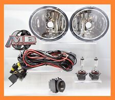 MBA Premier 01-07 Toyota Sequoia Tundra Clear Fog Lights Driving Lamp Pair