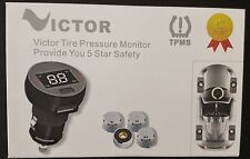 Tire Pressure Monitor System with Wireless and External Sensor - TP1003