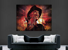 FREDDY KRUEGER NIGHTMARE ON ELM STREET POSTER SCARY MOVIE FILM ART WALL PICTURE