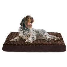 "Memory Foam Dog Mattress JUMBO Brown Bed Orthopedic Comfort 4.5""H 44""W x 35""D"