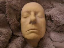 UNUSUAL ANTIQUE 19TH CENTURY PLASTER DEATH MASK OF A DECEASED PRISONER