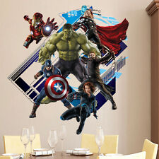Marvel The Avengers Superhero Wall Sticker Vinyl Decal Home Deco Art Room Mural