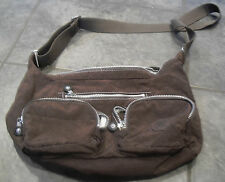 Brown Jarita Kipling Shoulder Hand Bag