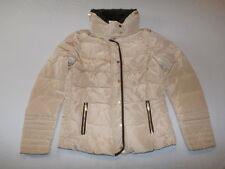 H&M Women's Down Jacket Beige Size 10 NWT $100