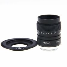 FUJIAN 25mm f/1.4 C Mount CCTV f1.4 Lens for Micro 4/3 m4/3 EPL5 EPM3 EPL7 OM-D