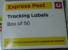 50 x AUSTRALIA POST EXPRESS TRACKING LABELS