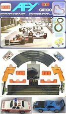 1980 Aurora AFX Slot Car Race Set Dodge & Chevy Fire A+