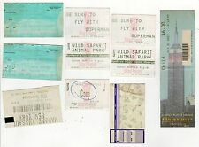 VINTAGE TICKET STUB LOT Florida Marlins MLB Empire State Building DODGERS Braves