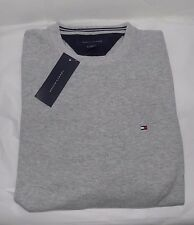 NWT MENS TOMMY HILFIGER CREW SWEATER~GRAY~SZ MED