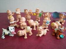LOT 15 FIGURINES MAGIC BABIES COLLECTION ENFANT 1991 JOUETS
