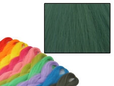 Cyberloxshop PHANTASIA Kanekalon JUMBO BRAID MIRTILLO CAPELLI VERDE PUNTA