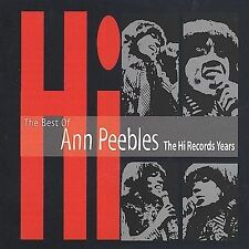 The Best of Ann Peebles: The Hi Records Years by Ann Peebles (CD, Jul-1996, The