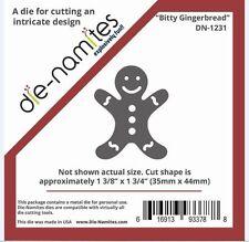 Die-Namites Intricate Design Single Cutting Die ~ Gingerbread Man