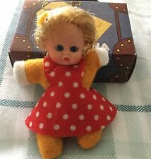 Vintage Miniature Bean Doll - Matchbox - Fofolete,El Greco,Baby William 1980S