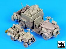 Black Dog 1/72 British SAS/LRDG Jeep & Chevrolet N.Africa '42 Accessories T72065