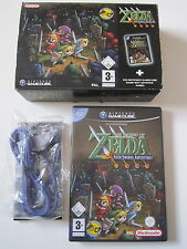 Zelda Four Swords Adventures + Link-Cable OVP Box - Nintendo Gamecube deutsch