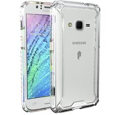 For Samsung Galaxy J1 2016/ Amp 2/ Express 3 POETIC Affinity Series Case Clear