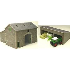 PO251 00 Manor Farm Barn Metcalfe Model Kit Building