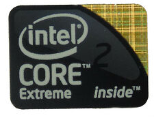 INTEL CORE 2 EXTREME STICKER LOGO AUFKLEBER 24x18mm (112)
