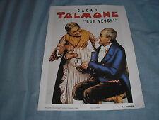 CACAO TALMONE 2 VECCHI PUBBLICITA ADV