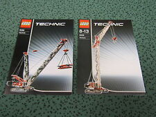 LEGO Technic Instruction - Bauanleitung 8288 - Crawler Crane / Raupenkran