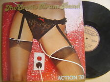THE EROTIC DRUM BAND action 78 CANADIAN LP UNIDISC 1978*SEXY COVER*DISCO FUNK