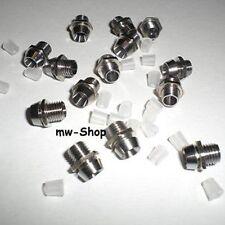 10 Metall Fassungen / Ledschrauben für 3mm Leds Led Halterungen Montagefassung