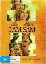 I AM SAM (Sean PENN Michelle PFEIFFER Dakota FANNING) Drama DVD NEW Region 4
