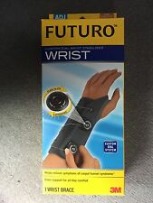 Futuro Custom Dial Wrist Stabilizer Brace, Left Hand, Adjustable, Firm Support