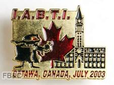 2003 Ottawa IABTI Bomb Tech & Inv Lapel Badge - Mackenzie-Orr Collection