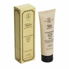 Sandalwood Shave Cream Tube by Taylors of old Bond Street