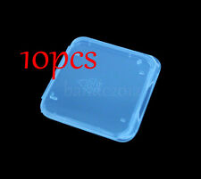 10x SD MS Memory Stick Pro duo Adapter Card Plastic Storage Box Holder Case
