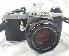 PENTAX ME Asahi Film Camera & SMC 1:1.7 50 mm Lens