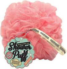 SOAP & GLORY Pink Bath Shower Lily Wash Scrunchie Sponge Puff Body Polisher Shop