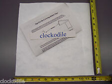 CUCKOO CLOCK BELLOWS PAPER MATERIAL WITH TEMPLATES & INSTRUCTIONS - repair parts