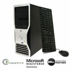 Dell Precision 490 Computer PC /  2x Intel Xeon 5150 2.66GHz / No HDD / 8GB RAM