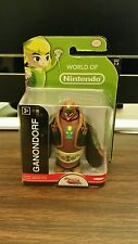 "World of Nintendo GANONDORF Action Figure SEALED Jakks Pacific 2.5"" Zelda 1-2"